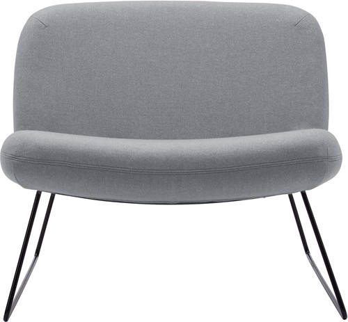 Java - Lounge fauteuil met sledeframe -2