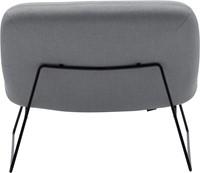 Java - Lounge fauteuil met sledeframe -3