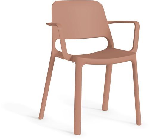 Kasper armstoel - kunststof school- / kantine stoel