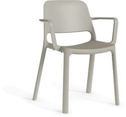Kasper arms - kunststof school- / kantine stoel