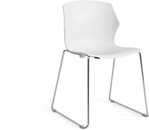 No-Frill SL - kunststof kantine stoel met slede frame-3