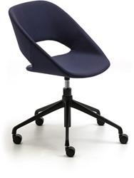 Kabira 940 - gestoffeerde verrijdbare bureaustoel in hoogte verstelbaar