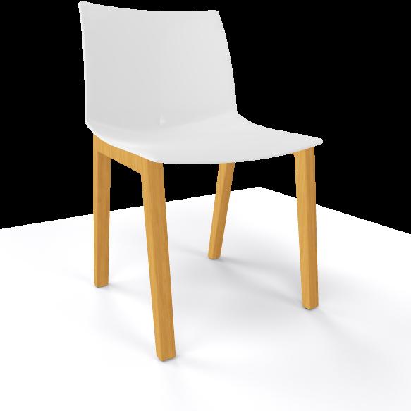 stuhl kunststoff affordable modernes design kunststoff und massivholz bein mode einfachen. Black Bedroom Furniture Sets. Home Design Ideas
