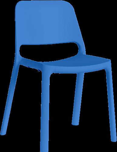 Kasper Eco - kunststof school- / kantine stoel van gerecycled kunststof