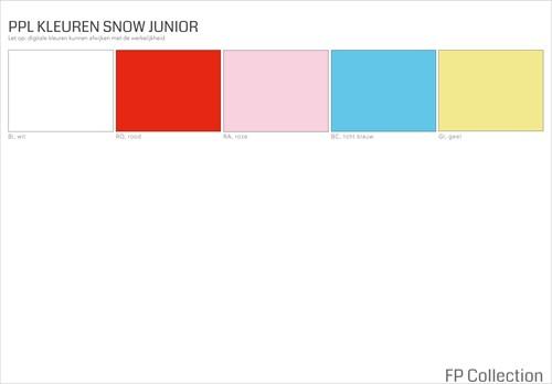 Kleurenoverzicht Snow Junior