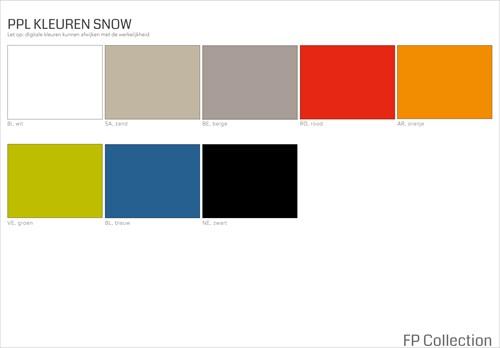 Kleurenoverzicht Snow