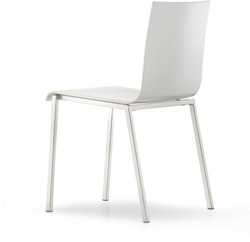 Kuadra XL 2401 - kunststof stoel met vierkant buisframe-3