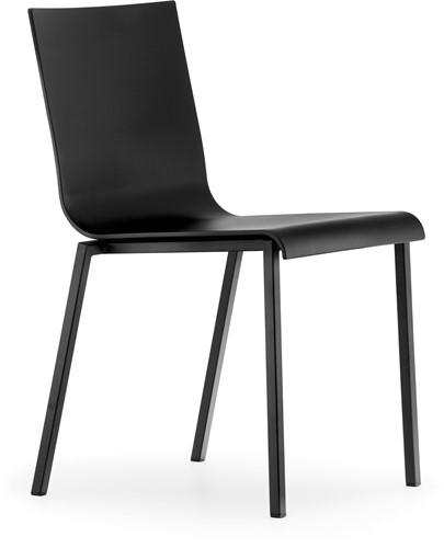 Kuadra XL 2401 - kunststof stoel met vierkant buisframe