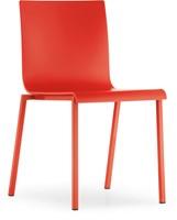 Kuadra XL 2401 - kunststof stoel met vierkant buisframe-2