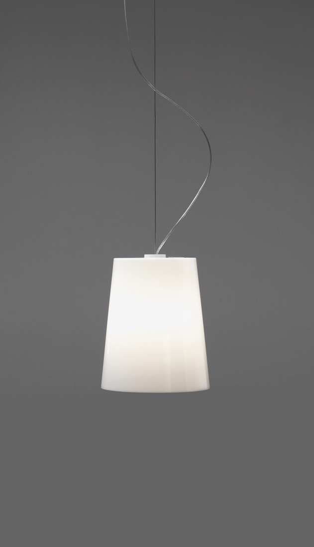 Top Lamp, kleine kap, helder, plafondrozet wit bij FP Collection TU22
