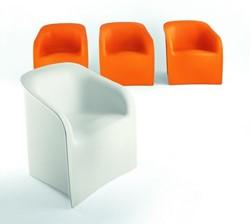Lady kunststof Stoel - Plart Design kunststof stoel