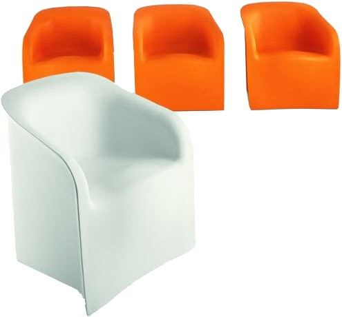 Plastic Design Stoelen.Plart Design Lady