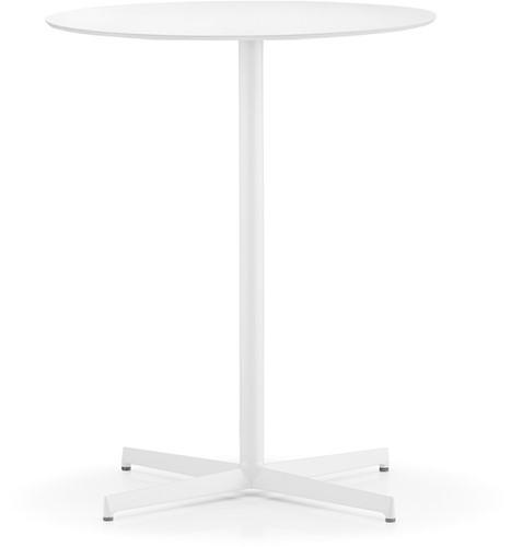 SC414 - Sta-tafelonderstel, kruisvoet 59x59 cm, hoogte 110 cm