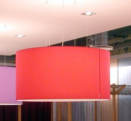 FP-HL 70/30  - verlichtingselement met stoffen lampenkap 70 cm doorsnede, optioneel te voorzien van blender-2