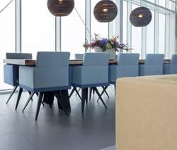LL Stoel 4920 - Kees Marcelis stoel voor vergaderen, spiderframe, volledig gestoffeerd