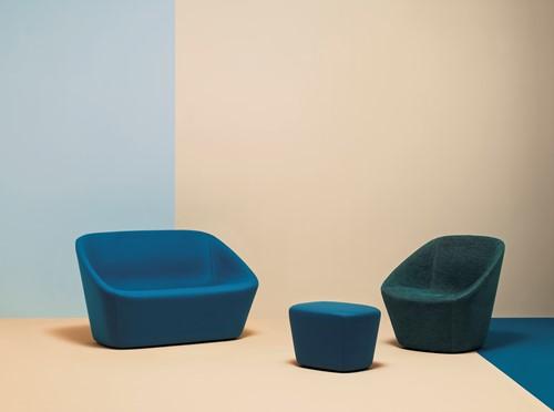 Log 368 - Lounge sofa, volledig gestoffeerd-3