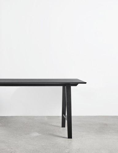 Bar table wood MO8701 Statafel - Magnus Olesen langwerpige statafel met houten frame-3