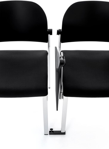 Staq AC750 EN14703 Koppeling - goedgekeurde koppeling voor stoelen zonder armleggers volgens EN14703 - kleur zwart