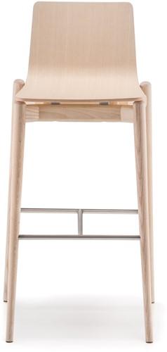 Malmö 236 - houten kruk in scandinavische stijl FSC 100% gecertificeerd