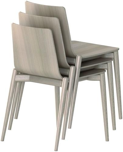 Malmö 390 - houten stapelbare stoel in scandinavische stijl. FSC 100% gecertificeerd-3