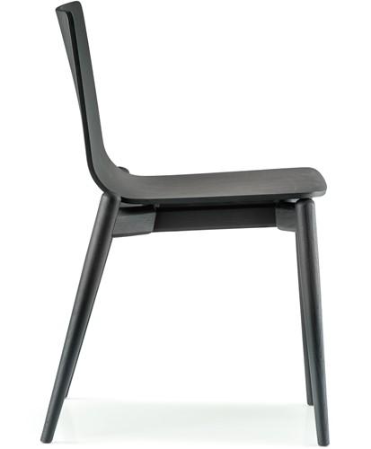 Malmö 390 - houten stapelbare stoel in scandinavische stijl. FSC 100% gecertificeerd-2