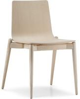 Malmö 390 - houten stapelbare stoel in scandinavische stijl. FSC 100% gecertificeerd