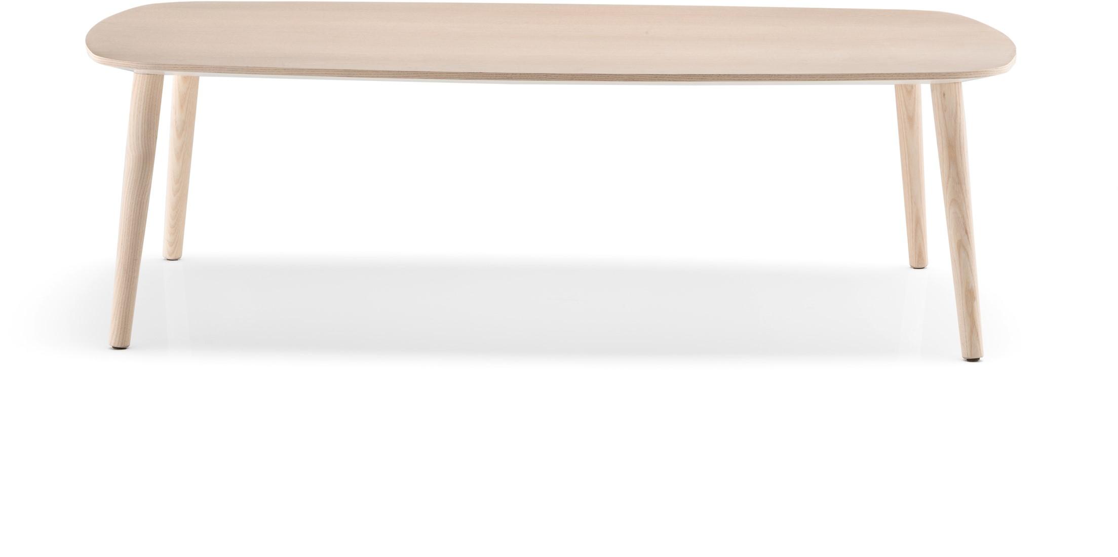 Langwerpige Houten Salontafel.Malmo Mlt Scandinavische Style Langwerpige Salontafel Met 4 Essen