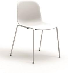 Mani 4L - vriendelijk vormgegeven kunststof stoel