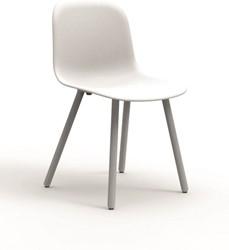 Stoel babila 2750 zitschaal zand poten essen gebl bij fp collection - Houten plastic stoel ...