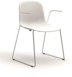 Mani Arm SL 960 - vriendelijk vormgegeven kunststof stoel met armleggers