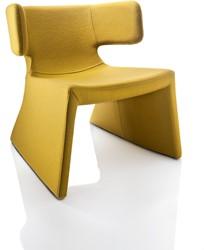 Meg 2061 - gestoffeerde lounge stoel