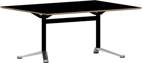 Butterfly MO6703 Tafel recht - Magnus Olesen langwerpige of tonvormige zelfstandige tafel met tweepoot onderstel