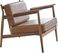 MO 107 Armfauteuil  - Magnus Olesen Lounge stoel, ontwerp Ib Kofod-Larsen