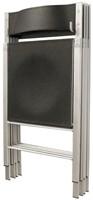 AC75 - wandbeugel voor kunststof of houten klapstoelen-3