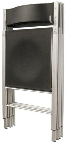 AC75 - wandbeugel voor kunststof of houten klapstoelen