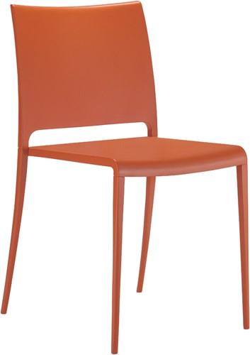 Mya 700 -  kunststof stoel met aluminium poten-3