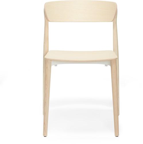 Nemea 2820 - houten school/ kantine stoel in scandinavische stijl. FSC 100% gecertificeerd
