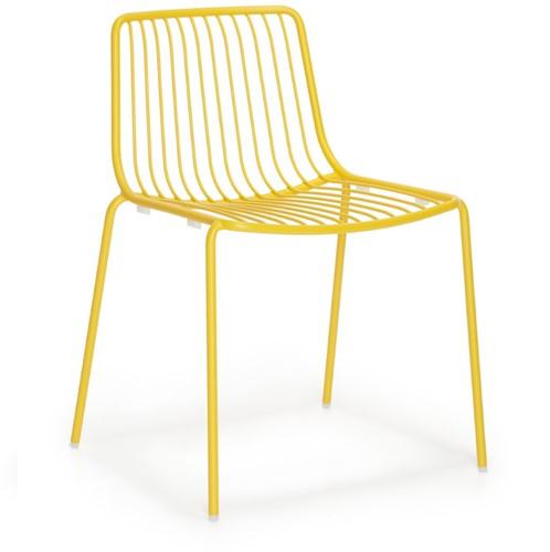 Nolita 3650 - stalen terrasstoel, kantinestoel