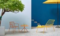 Nolita 3654 - stalen terrasstoel, lounge stoel, chaise loungue-2
