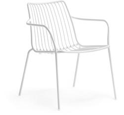 Nolita 3659 - stalen loungestoel outdoor, terrasstoel,  lounge stoel - TERRACOTTA (TE) RAL8023