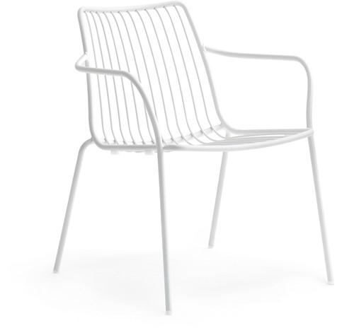 Nolita 3659 - stalen loungestoel outdoor, terrasstoel,  lounge stoel