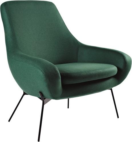 Noomi String - gestoffeerde lounge stoel / fauteuil