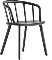 Nym 2835 - houten stoel met armleggers. FSC 100% gecertificeerd
