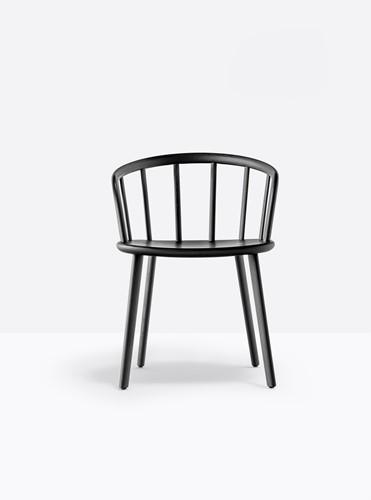 Nym 2835 - houten stoel met armleggers. FSC 100% gecertificeerd-2