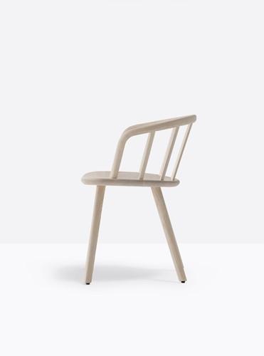 Nym 2835 - houten stoel met armleggers. FSC 100% gecertificeerd-3