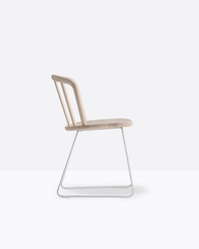 Nym 2850 - houten stoel met sledeframe - FSC 100% gecertificeerd-2