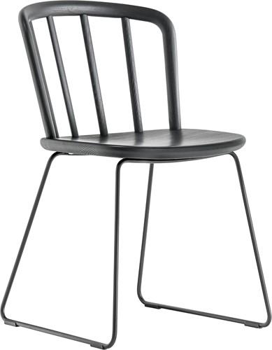Nym 2850 - houten stoel met sledeframe - FSC 100% gecertificeerd