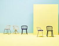Nym 2850 - houten stoel met sledeframe - FSC 100% gecertificeerd-3
