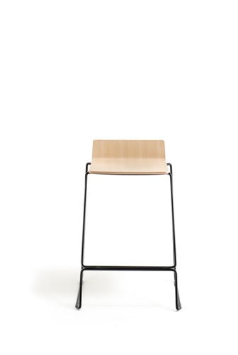 Osaka Metal 5716 - kruk met houten zitting. FSC 100% gecertificeerd-3