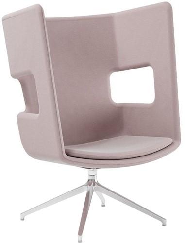 Peyo SP Lounge - gestoffeerde oorstoel, overleg fauteuil, auto-return